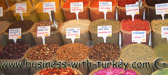 Spices from Turkey