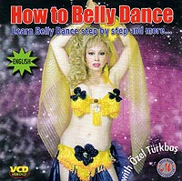 Turkish Belly dance Vcd-How to belly dance. Learn belly dance step by step and more...