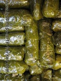 Turkish Condiment (seasoning/spice) for stuffed grape or cabbage leaves