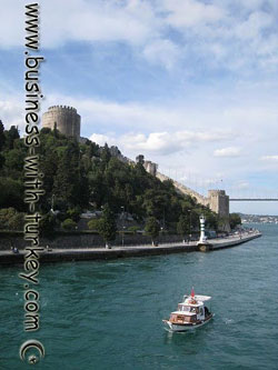 Rumeli Hisar Fortress by the Bosphorus