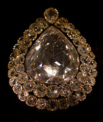 Diamand of 84 Karat in Exhibition at topkapi Palace