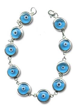 Evil Eye Amulet Bracelet And Necklace From Turkey